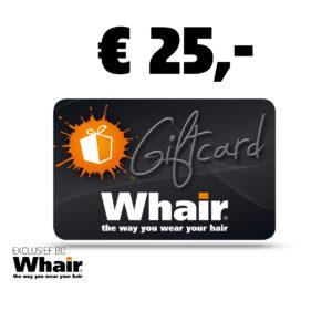 Whair Giftcard twv € 25,-..!